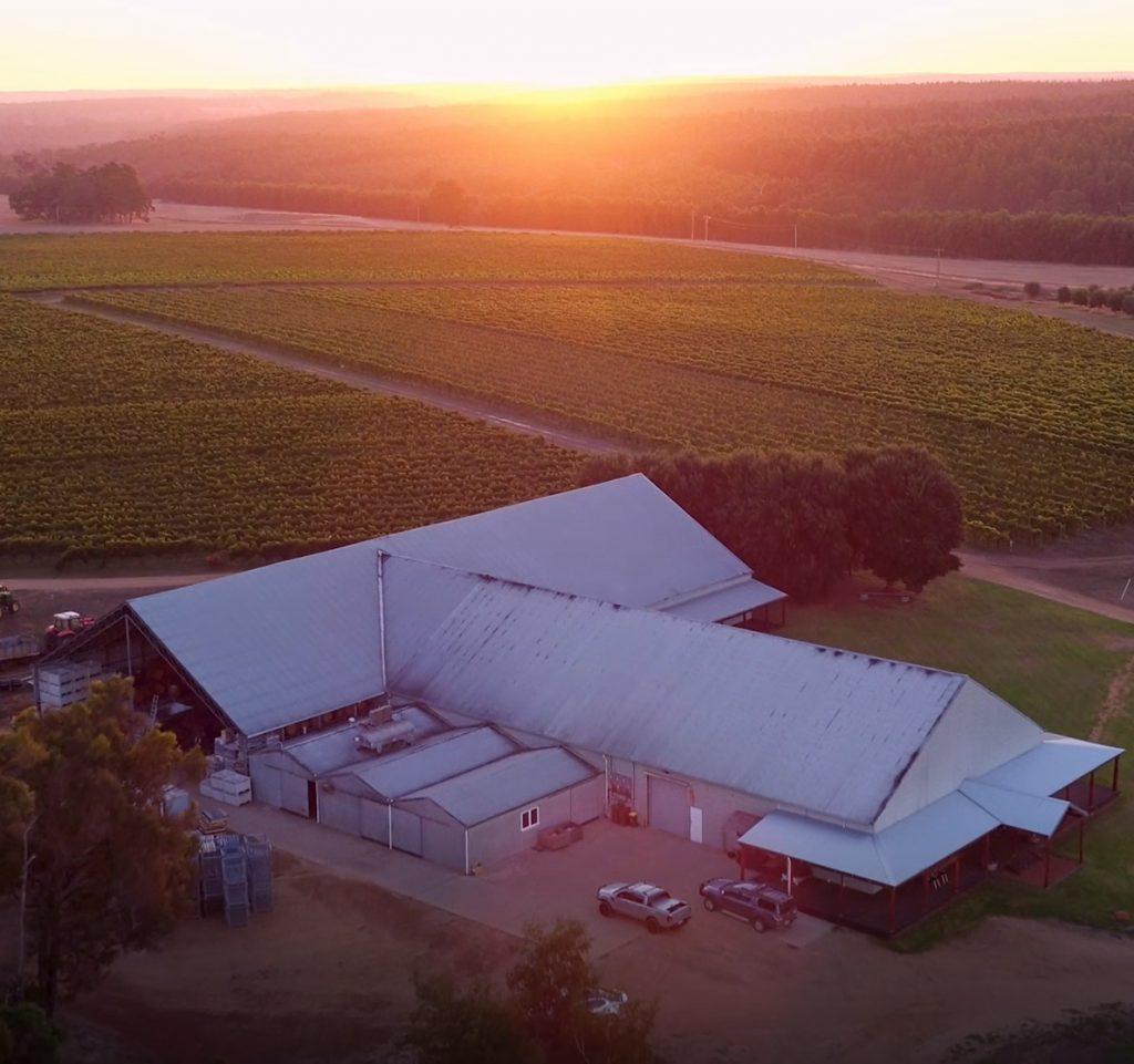 Frankland Estate winery in Frankland River